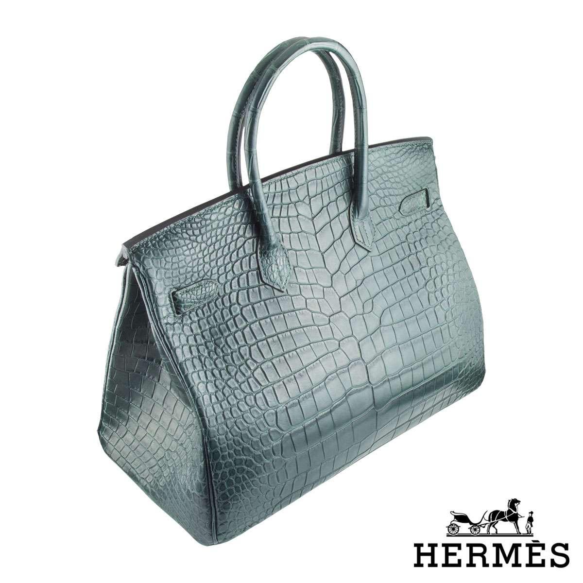 ... Hermès Porosus Crocodile 35cm Birkin Bag ... 6e5f8413b86cf